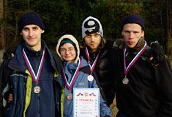 Команда Клуба АТО на соревнованиях по ПСР