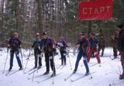 Московские соревнования по лыжному туризму Первая пороша