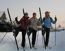 Соревнование по лыжному туризму первая пороша