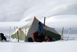 Школа Лыжного туризма при Клубе АТО Москва - как не замерзнуть зимой