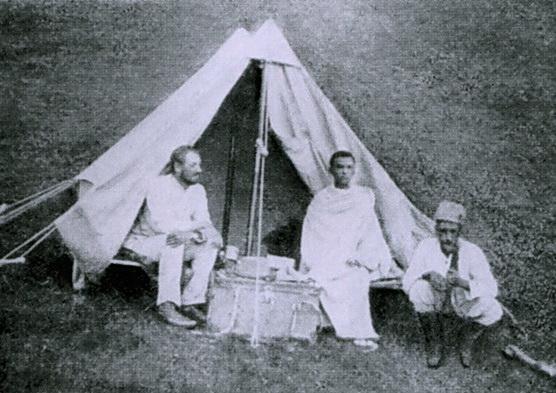 Первая научная русская экспедиция в Африку Николая Гумилева