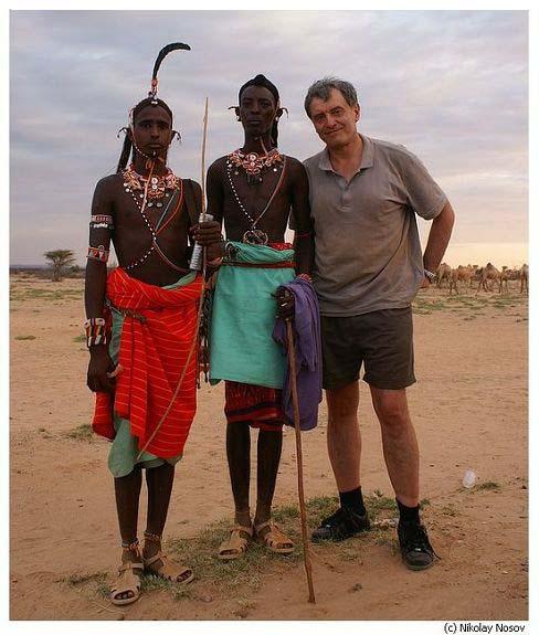 Николай Носов в Кении