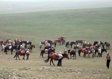 Поход на лошадях по озерам в Монголии + Байкал