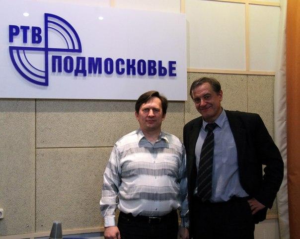 Николай Носов и Геннадий Сёмин в прямом эфире РТВ Подмосковье