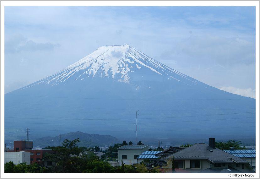 Фудзияма, Япония была покорена со второго раза.