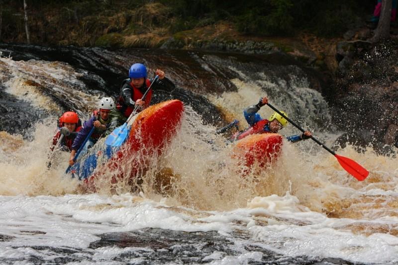 Майский поход на катамаранах по реке Укса - Карелия (запись открыта)